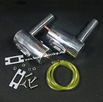 100-120CC Smoking Exhaust Pipe Gas Engine Set